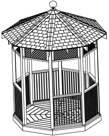 Our Gazebo Plans - Click Image to Close