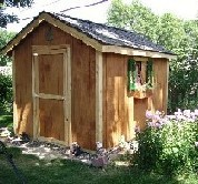 SAMPLE Shed Plans 04, 10x10 Gable Shed, Medium Size Shed, DOWNLOAD