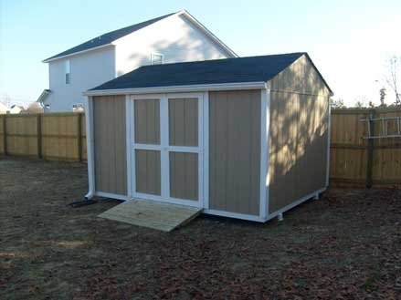 SAMPLE Shed Plans 05, 10x12 Gable Shed, Medium Size Shed, DOWNLOAD