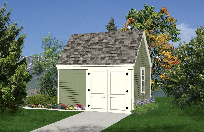 SAMPLE - Deluxe 10x12 Starter Garden Shed Plans, DOWNLOAD