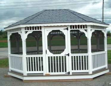 SAMPLE Gazebo Plans 09, 10x16 ft Octagon Gazebo, IMMEDIATE DOWNLOAD