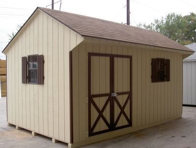 SAMPLE Shed Plans 19, 10x16 Saltbox Roof, Large Shed, DOWNLOAD
