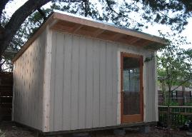 SAMPLE - 10x8 Beginner Storage Shed Plans, DOWNLOAD