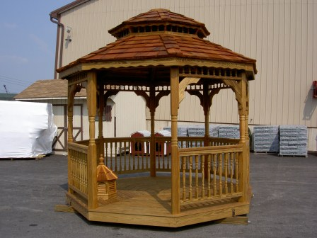 SAMPLE Gazebo Plans 11, 12 ft Double Roof Gazebo, IMMEDIATE DOWNLOAD