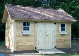 SAMPLE Shed Plans 10, 12x12 Gable Shed, Medium Shed, DOWNLOAD