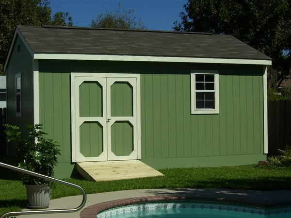 SAMPLE Shed Plans 08, 12x20 Gable Shed, Large Size Shed, DOWNLOAD