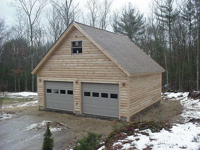 Sample 24x24 2 car garage plans with 2nd story loft for 24x24 garage plans