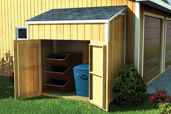 Merveilleux SAMPLE Shed Plans 14, 4x8 Slant Roof, Small Shed, DOWNLOAD
