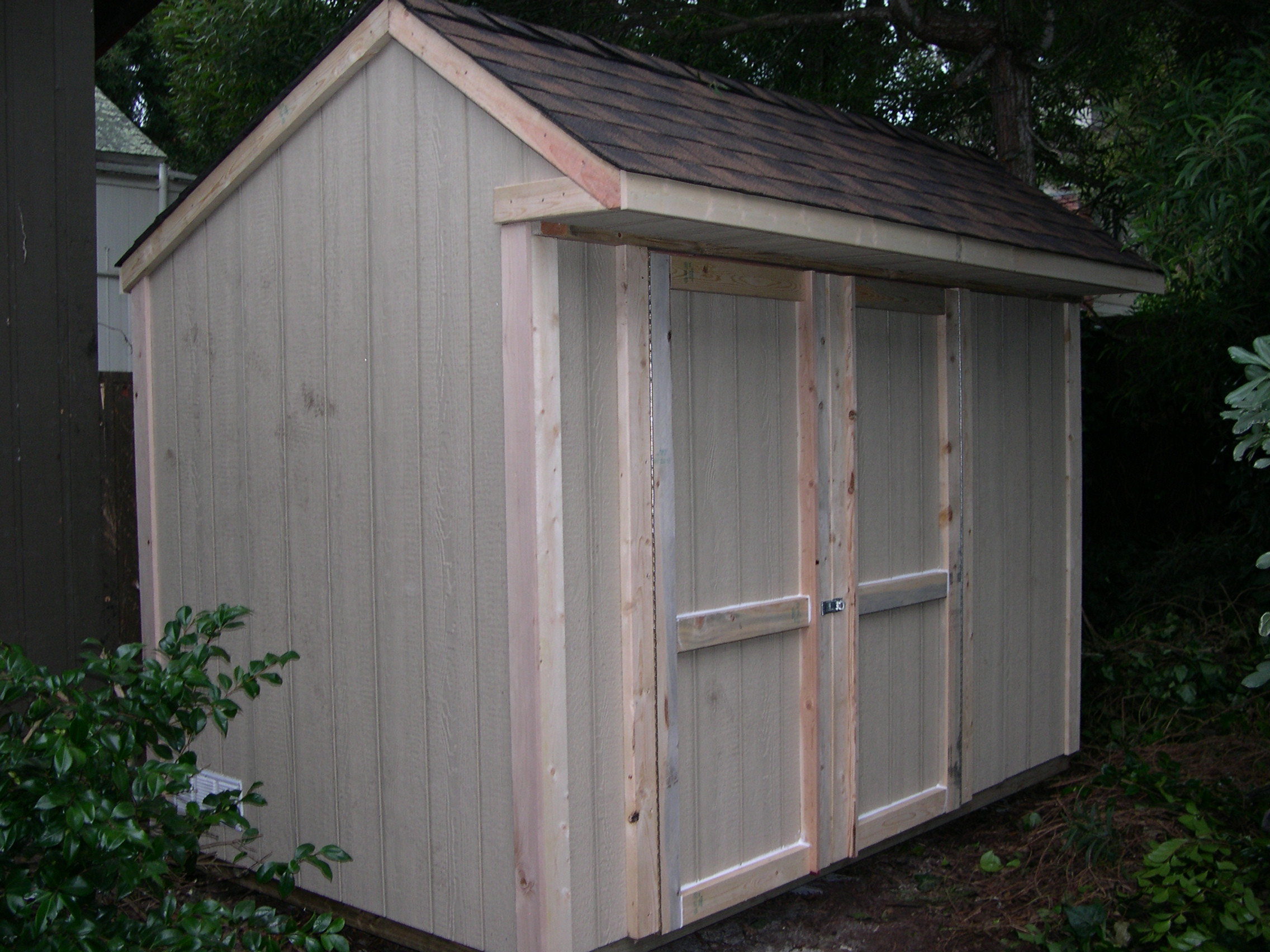 sample shed plans 22 6x10 saltbox roof small shed download