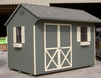 SAMPLE Shed Plans 21, 6x12 Saltbox Roof, Small Shed, DOWNLOAD