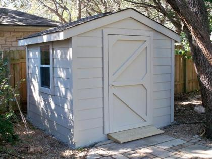 SAMPLE Shed Plans 12, 6x6 Gable Shed, Small Shed, DOWNLOAD