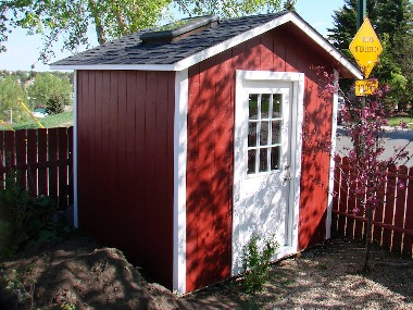 SAMPLE Shed Plans 01, 6x8 Gable Shed, Beginner's Model, DOWNLOAD