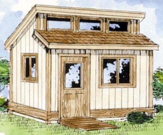 SAMPLE - Gardening Entry Level Shed Plans, DOWNLOAD