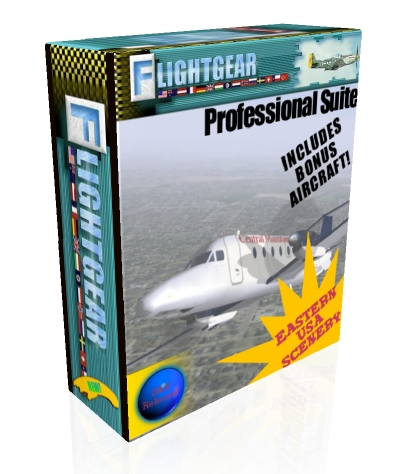 FlightGear Flight Simulator with bonus planes