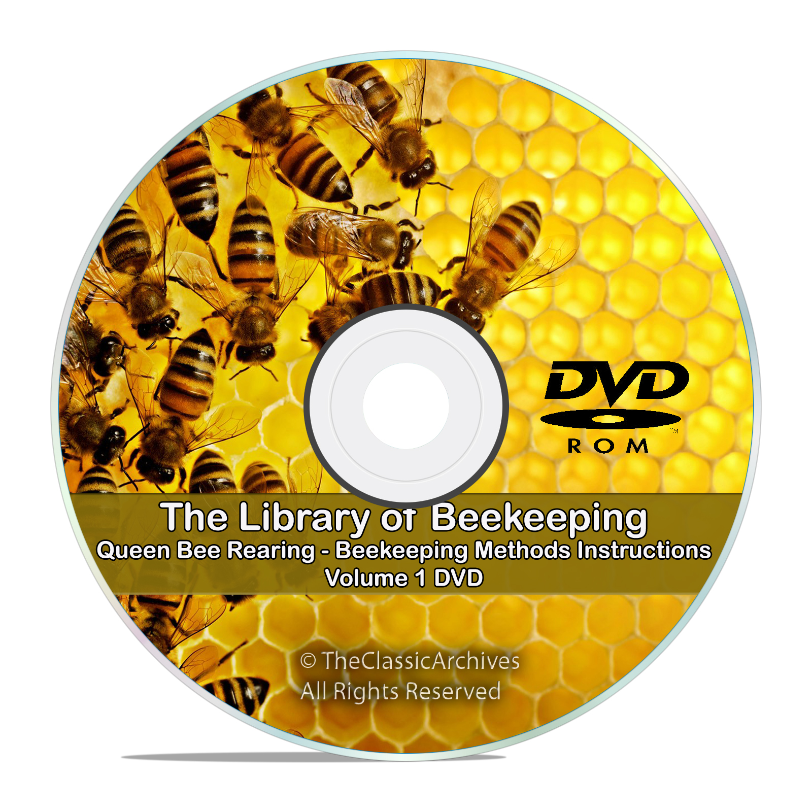 The Master Library of Beekeeping Rearing Queen Bees, Classic Bee Care DVD