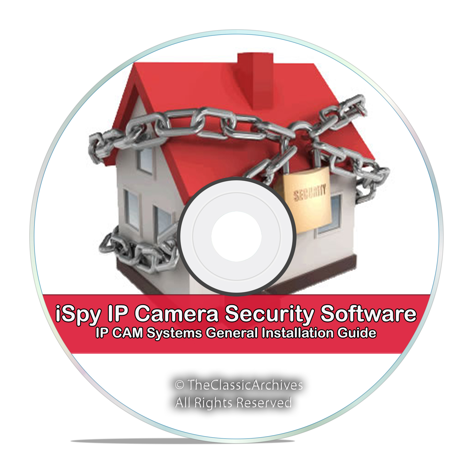 iSpy IP Camera DVR Surveillance Video Recording Software Motion DVR CD