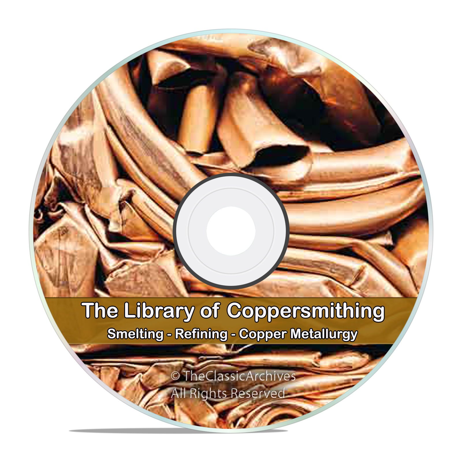 Copper Smelting Refining Mining Coppersmithing Metallurgy Reference Book CD