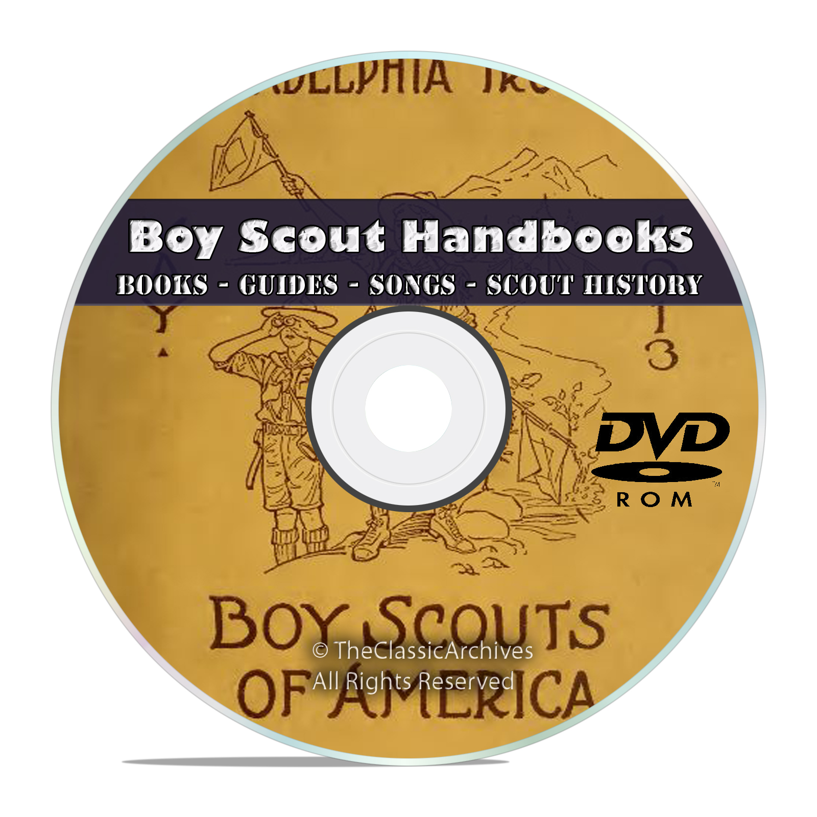 360 Boy Scout Handbooks Collection, Scouting, Songs, Magazines, Books DVD