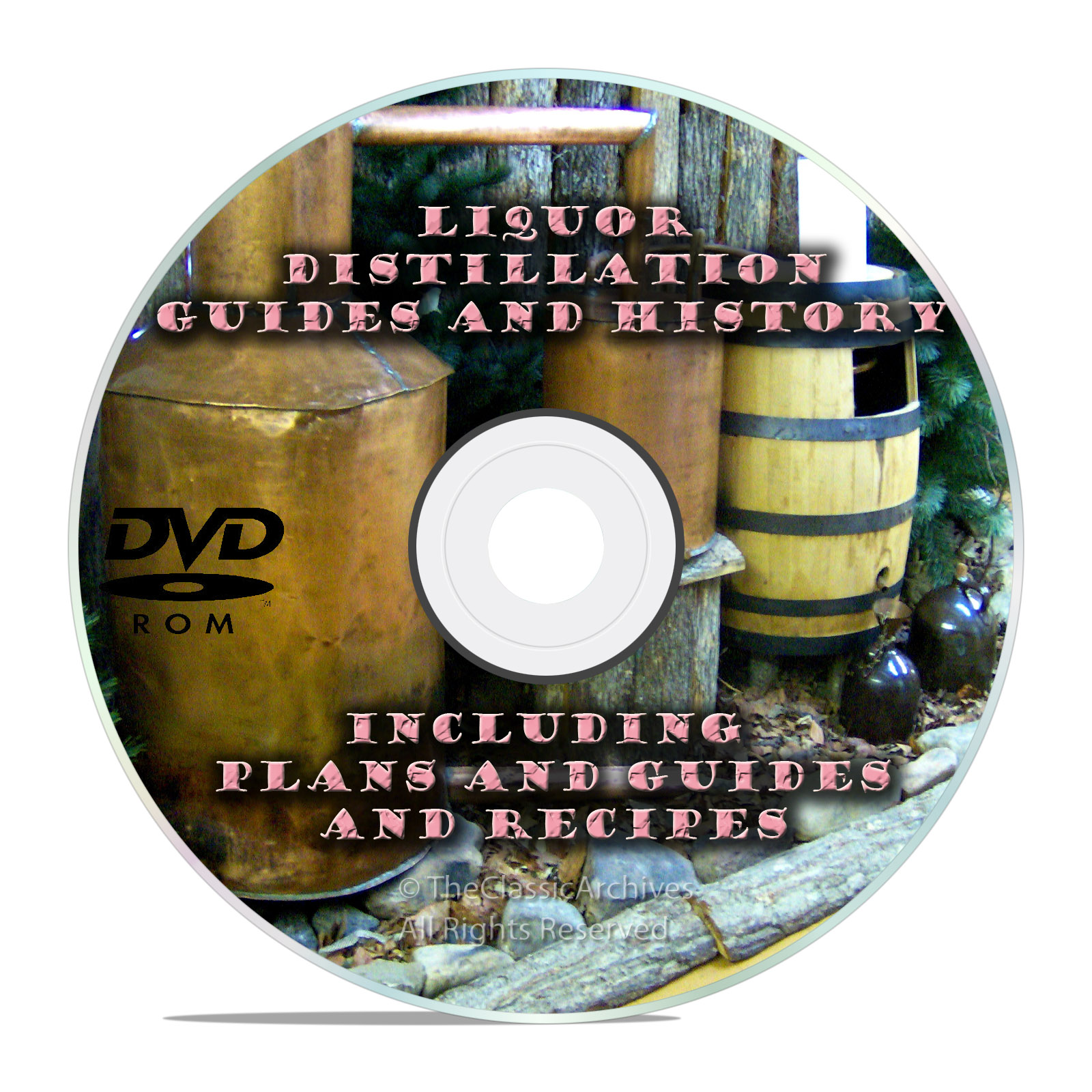 The Complete Distiller, Moonshine Still Plans and Guides on DVD