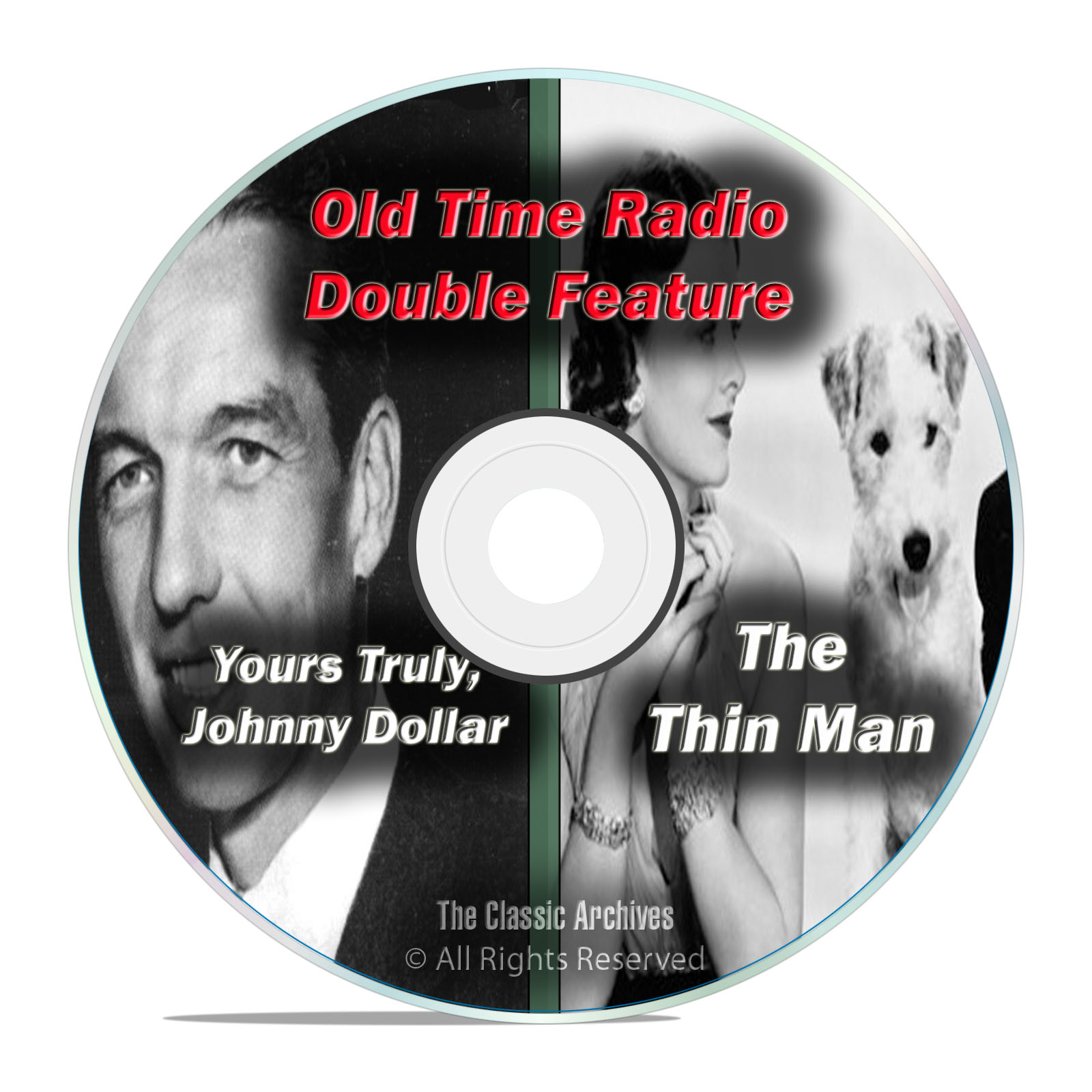 Yours Truly, Johnny Dollar, The Thin Man, 802 SHOWS Old Time Radio, OTR DVD