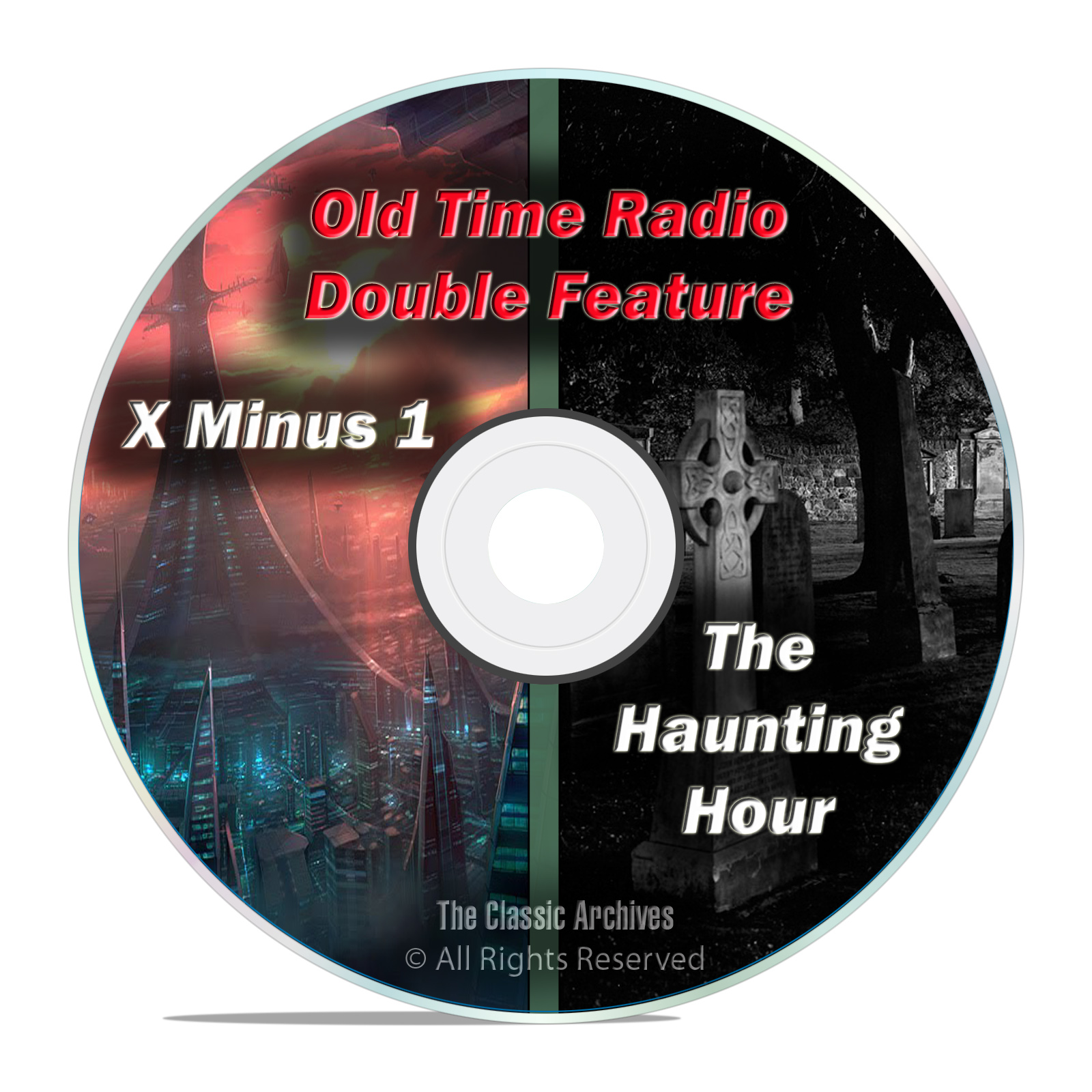 The Haunting Hour & X Minus One, 203 shows Complete Run, Old Time Radio DVD