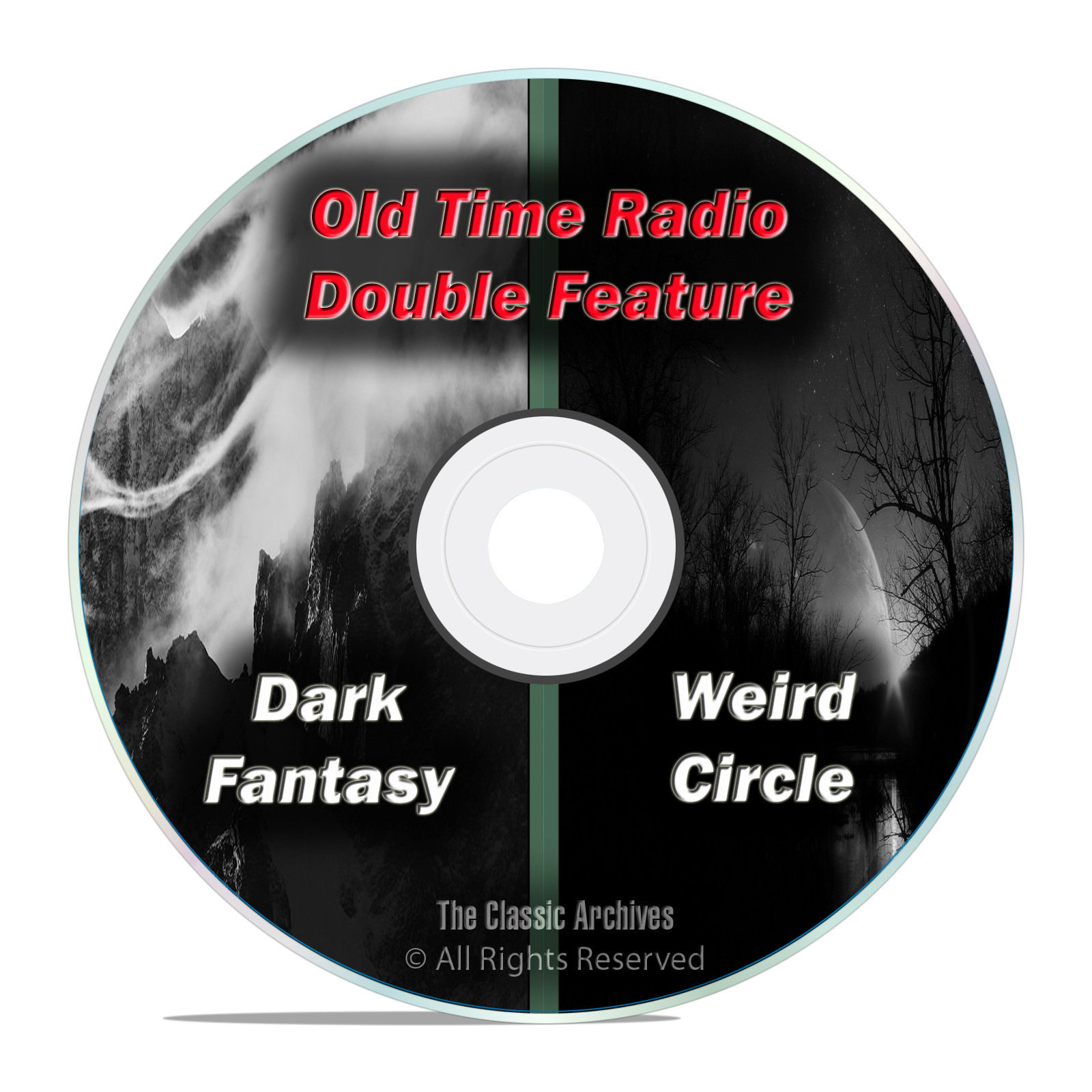 DARK FANTASY & WEIRD CIRCLE, 234 shows, FULL RUN SET, Old Time Radio DVD