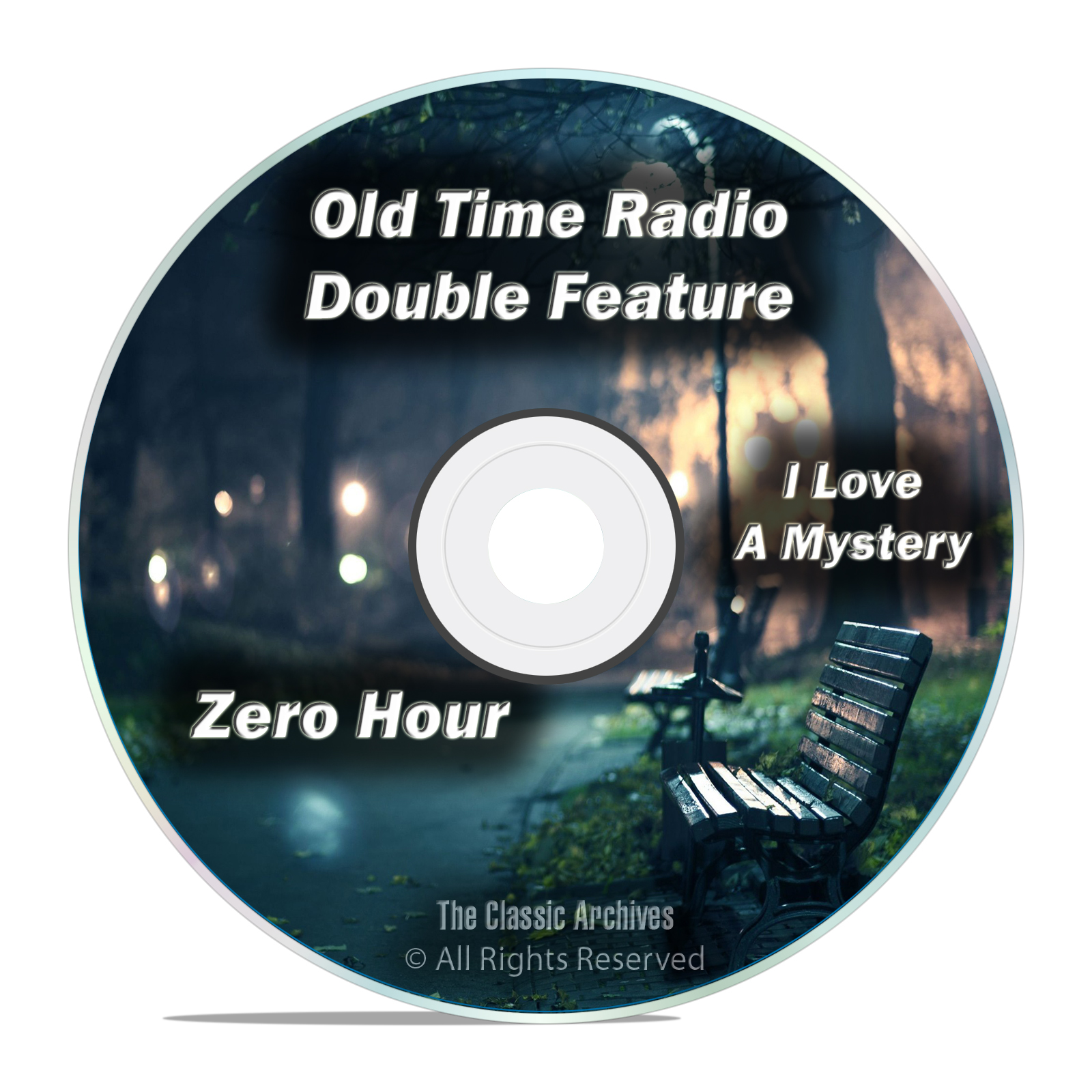 Zero Hour, I Love a Mystery, All Known 701 Old Time Radio Shows MP3 DVD