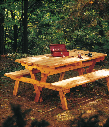 Free Picnic Table And Bench Design Plans
