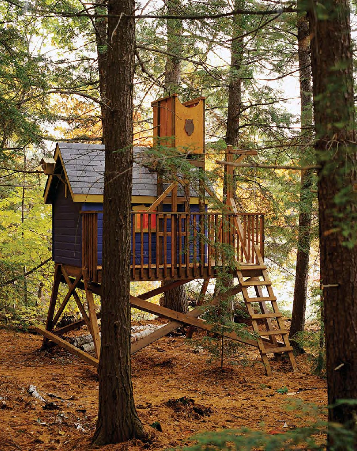 treehouse playhouse plans
