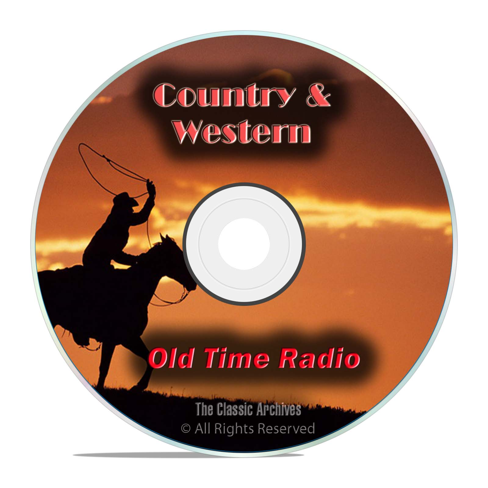 Country Music, Westerns, 1134 Old Time Radio Shows, Jubilee, OTR, DVD