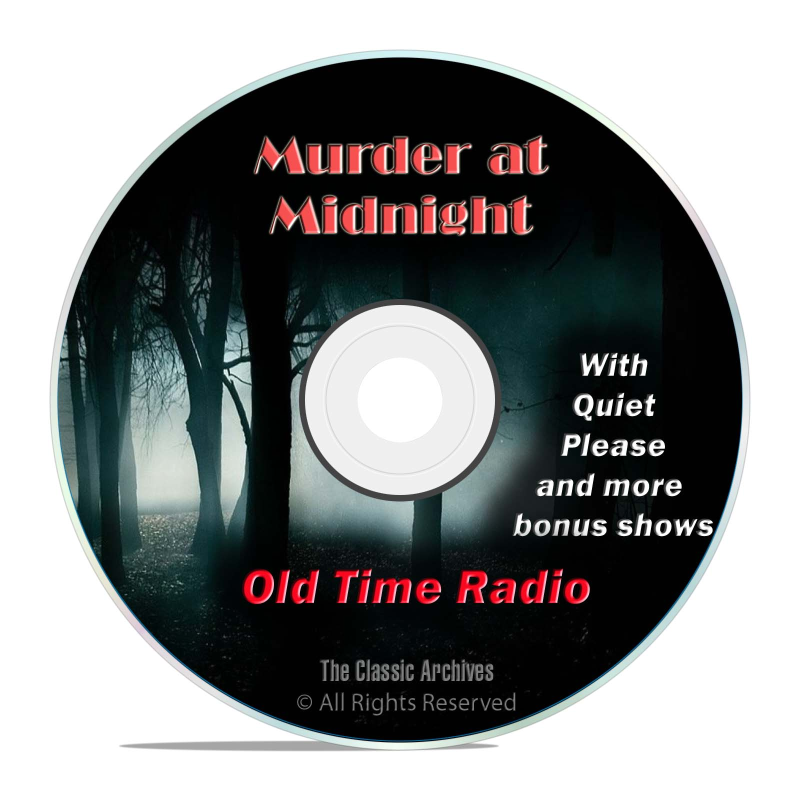 Murder at Midnight, 481 Thriller Horror, Old Time Radio Shows, OTR, DVD