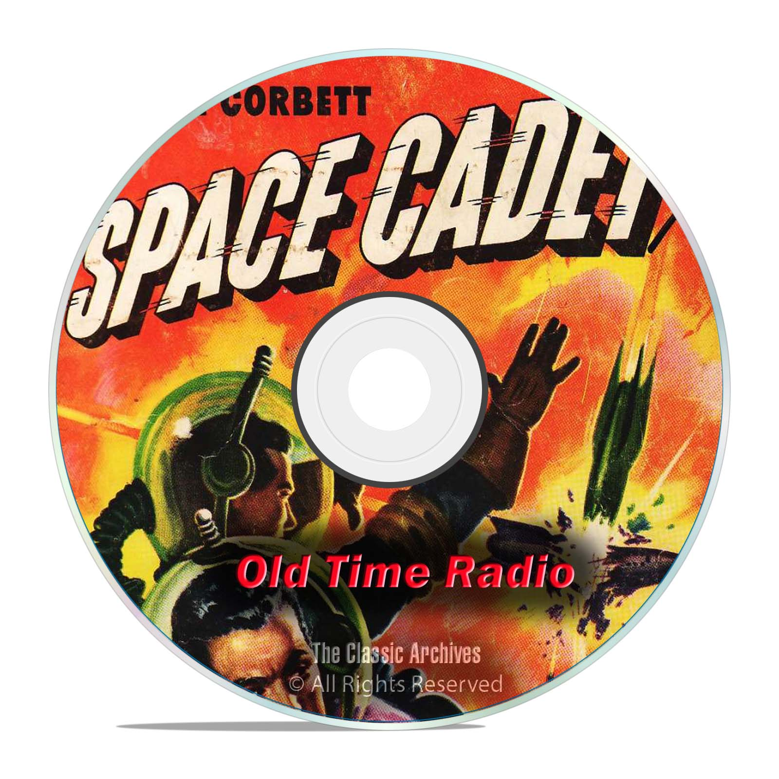 Tom Corbett, Space Cadet, 990 SciFi Old Time Radio Shows, OTR, DVD