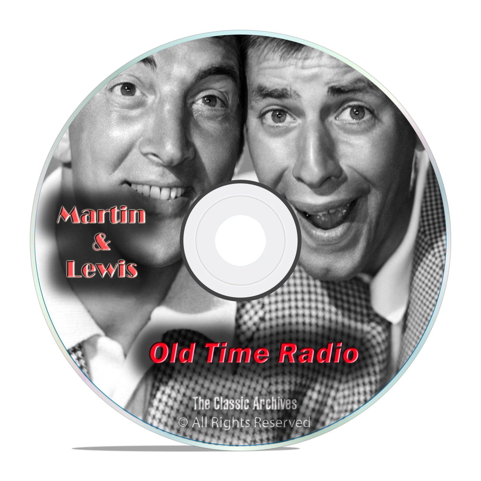 Dean Martin and Jerry Lewis, 587 Old Time Radio Comedy, Music Shows, OTR