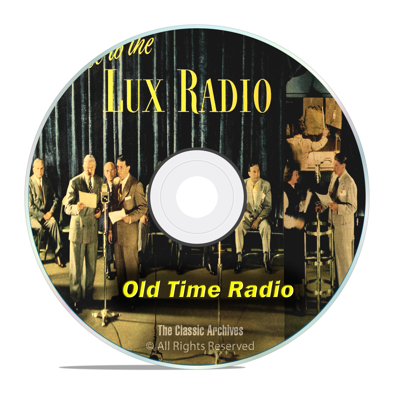 LUX RADIO THEATER, 1,369 Old Time Radio Drama Episodes, COMPLETE SET OTR
