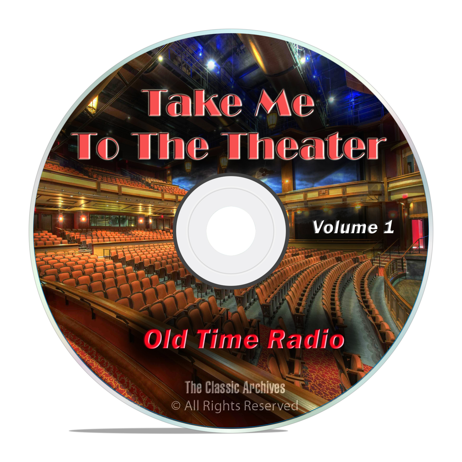 Take Me To The Theater, 502 Old Time Radio Theater, Musical Shows, Vol 1