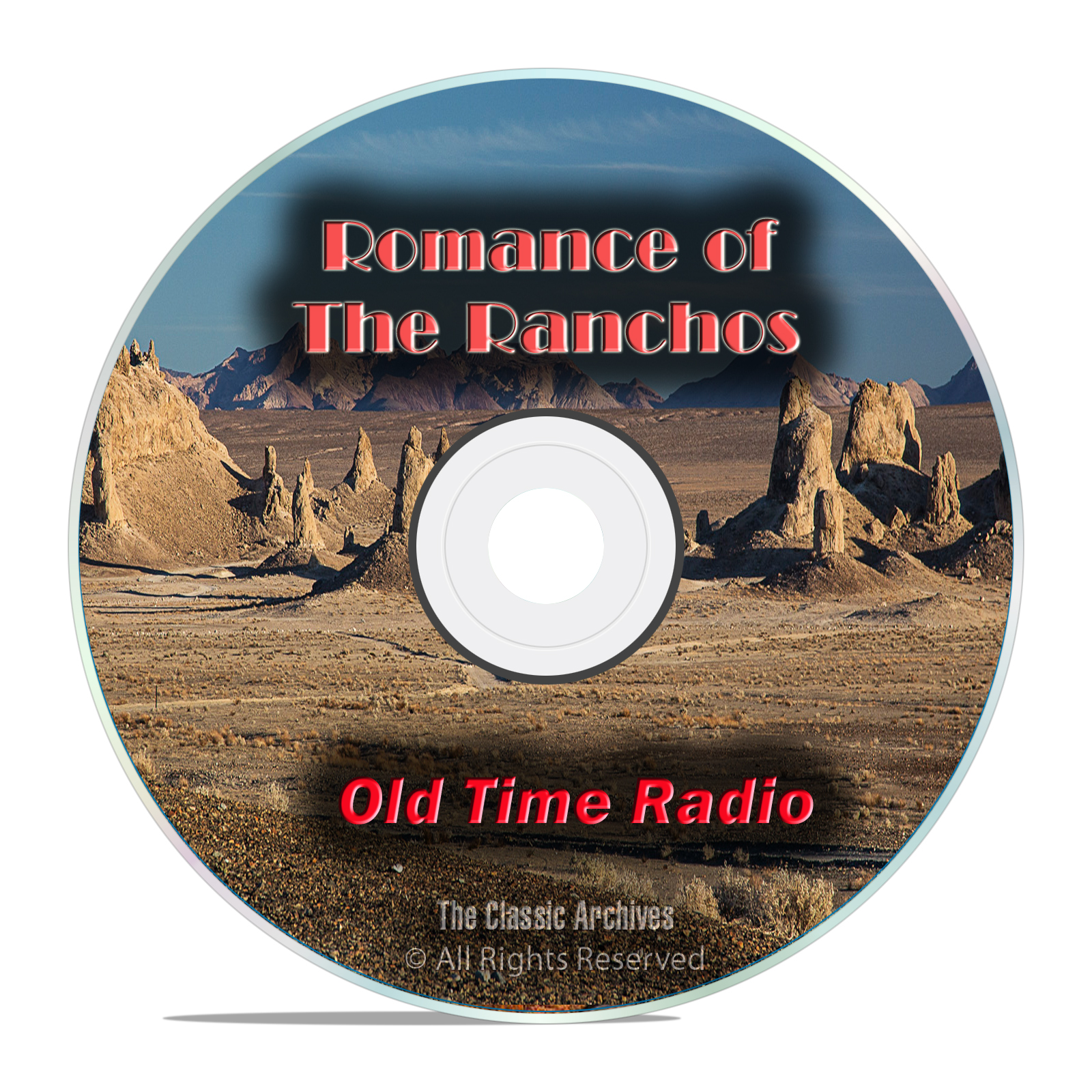 Romance of the Ranchos, 704 Old Time Radio Westerns, So. California mp3 DVD - Click Image to Close