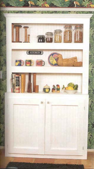 China Hutch Cabinet, Wood Furniture Plans, IMMEDIATE DOWNLOAD