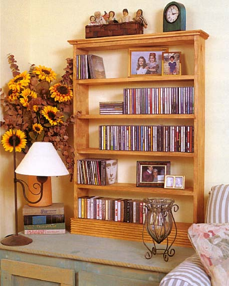 CD Cabinet, Wood Furniture Plans, IMMEDIATE DOWNLOAD