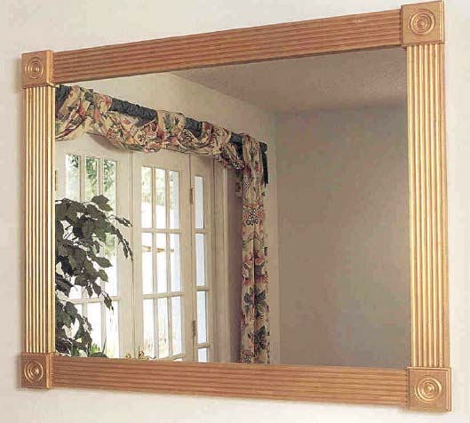 Gold Mirror, Wood Furniture Plans, IMMEDIATE DOWNLOAD