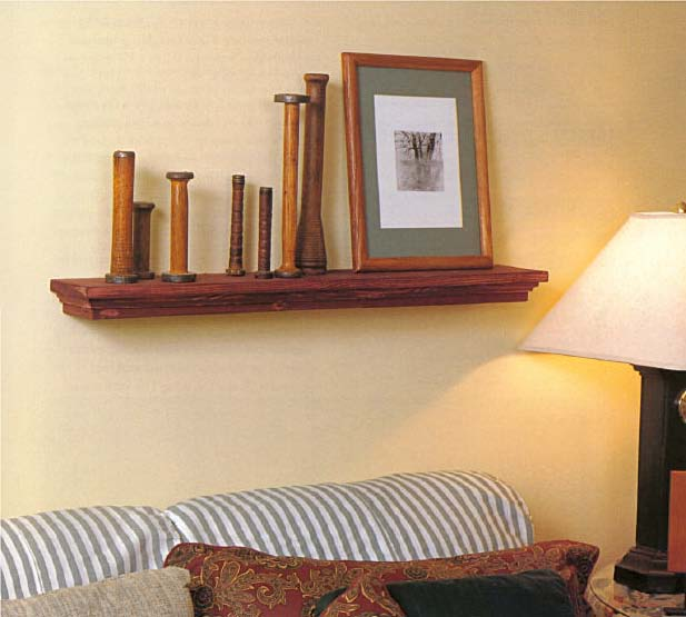 Wall Ledge, Wood Furniture Plans, IMMEDIATE DOWNLOAD