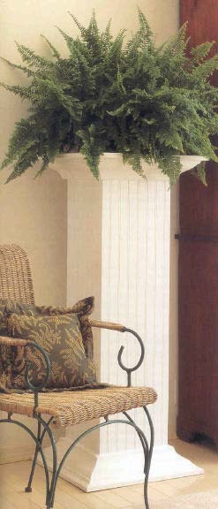 Fern Pedestal, Wood Furniture Plans, IMMEDIATE DOWNLOAD