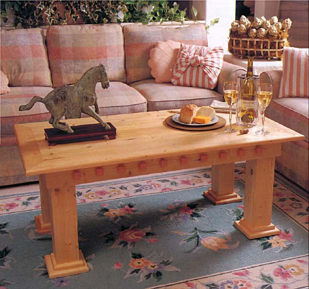 Coffee Table, Wood Furniture Plans, IMMEDIATE DOWNLOAD
