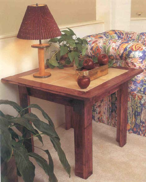 Charming End Table, Wood Furniture Plans, IMMEDIATE DOWNLOAD