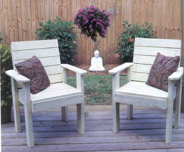 lawn chairs outdoor wood plans immediate download lawn