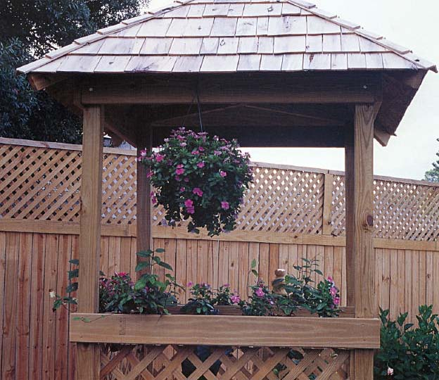 Mini Gazebo, Outdoor Wood Plans, IMMEDIATE DOWNLOAD