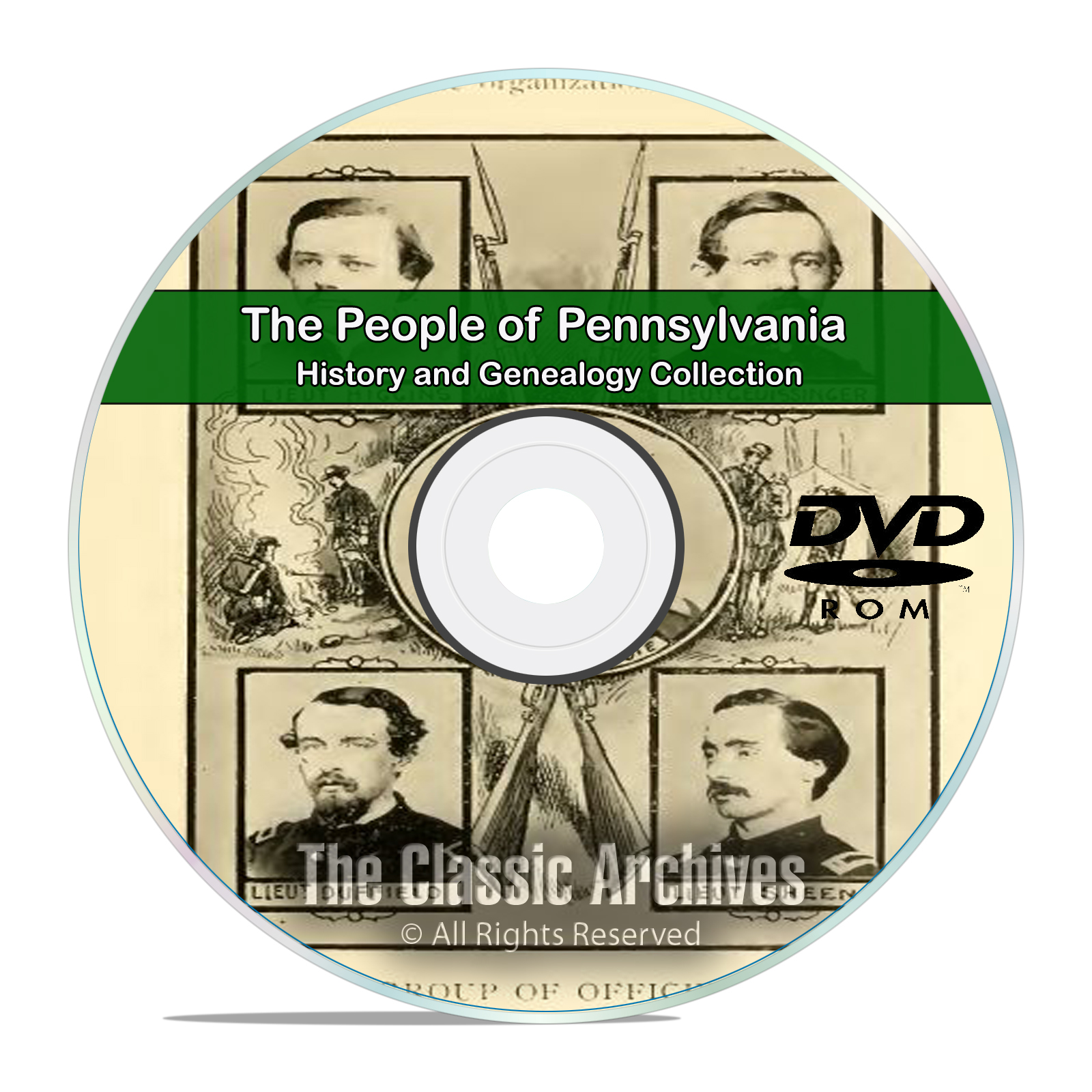 Pennsylvania PA, People Cities Towns, History and Genealogy 91 Books DVD