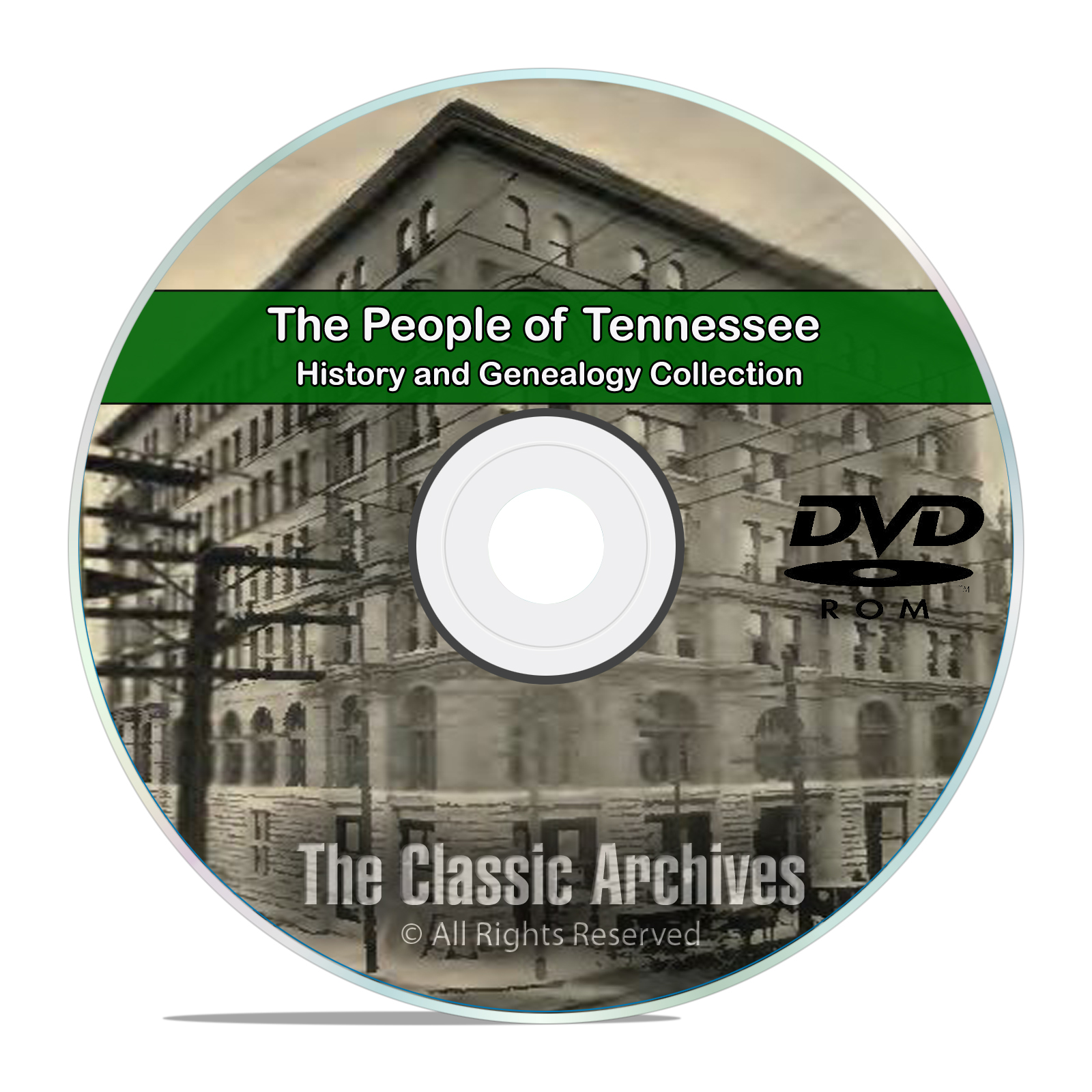 Tennessee TN, People Cities Towns History and Genealogy 92 Books DVD