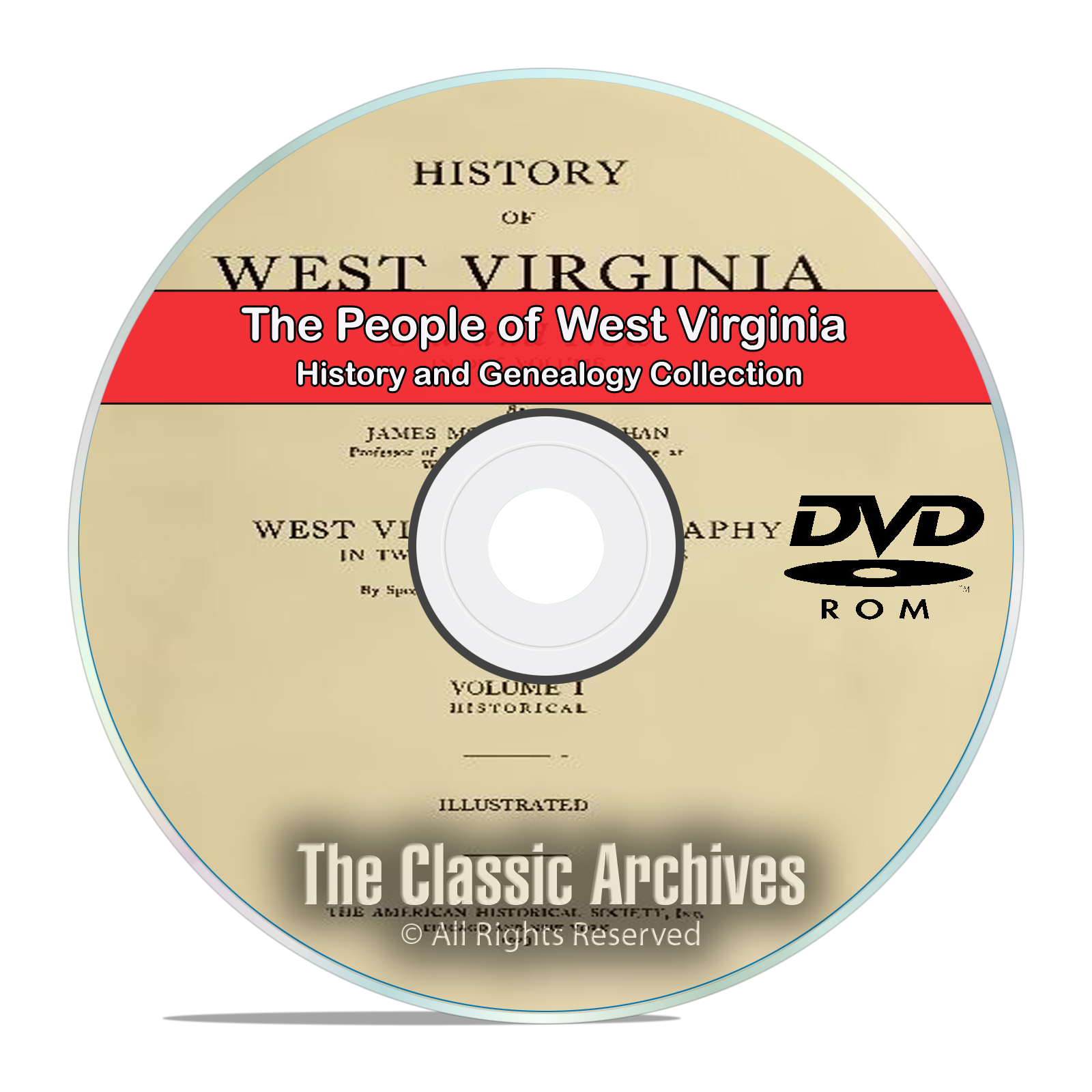 West Virginia, WV, People Cities Towns History and Genealogy 74 Books DVD