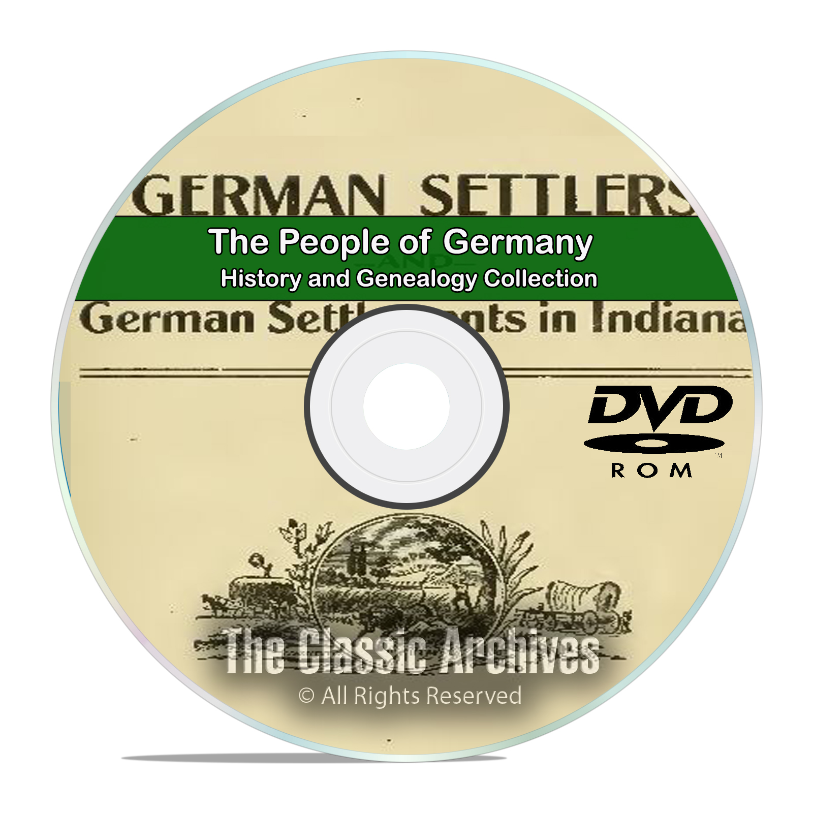 Germany People Cities Towns History and Genealogy 102 Books DVD