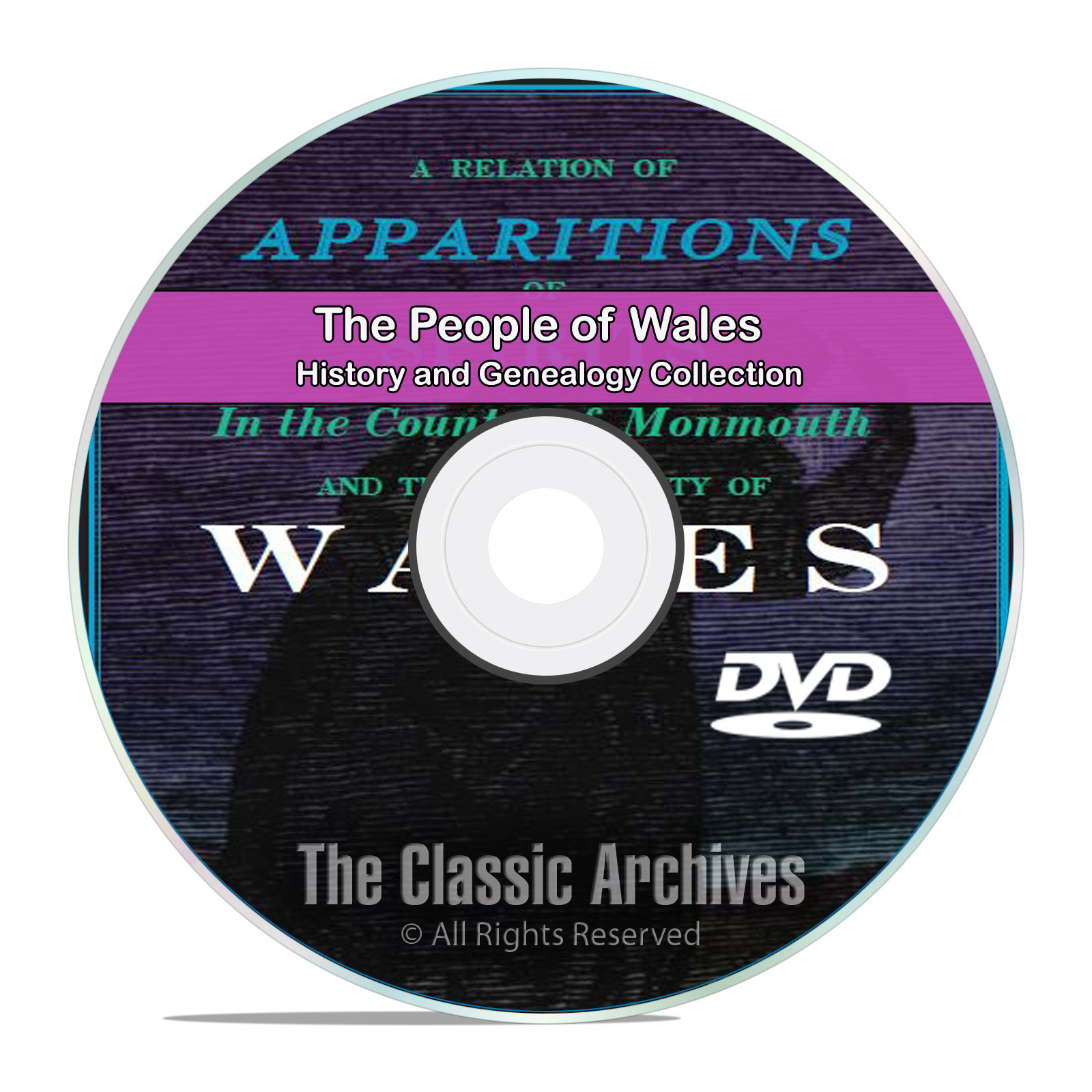 Wales, People Cities and Towns, History and Genealogy 145 Books DVD